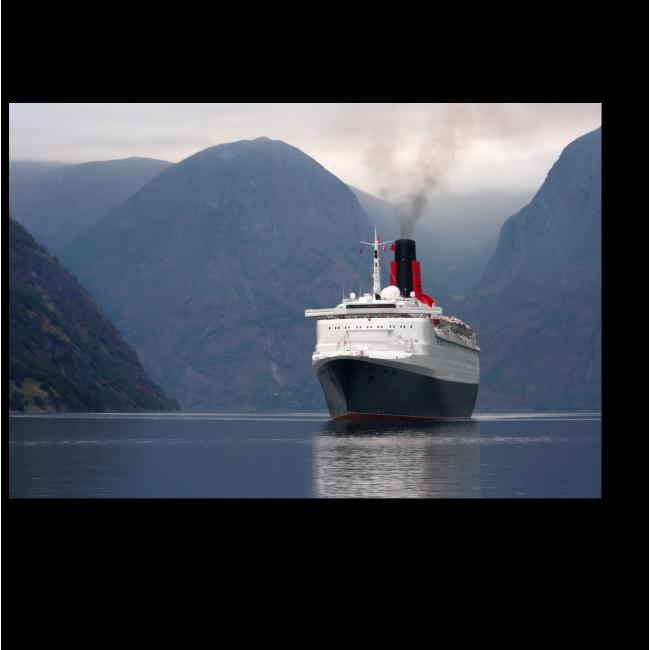 Модульная картина Добро пожаловать в Норвегию