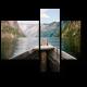 Захватывающий вид на норвежский фьорд