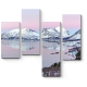 Завораживающий фьорд на острове Сенья на закате