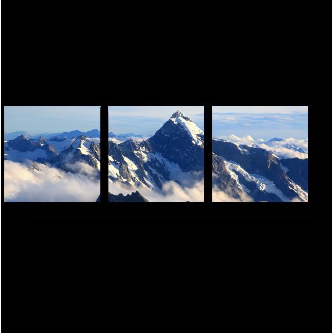 Модульная картина В окружении облаков
