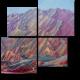 Радужные горы, Данься геопарк, Китай