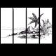 Зарисовка тропического пляжа