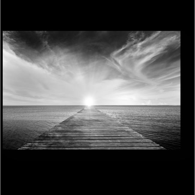 Модульная картина Путь к солнцу
