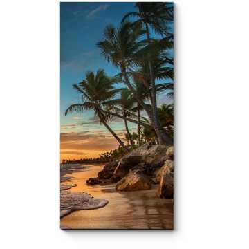 Восход солнца на райском острове