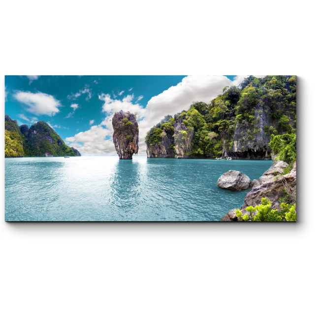 Модульная картина Впечатляющий пейзаж Тайланда