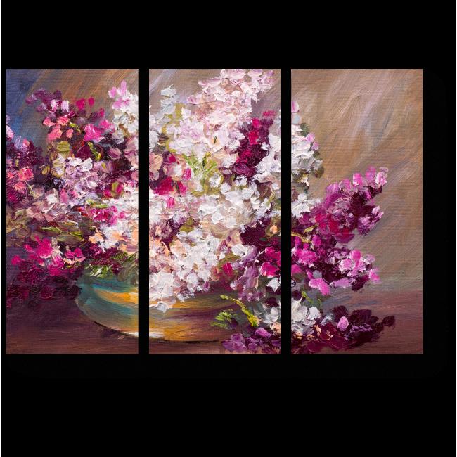 Модульная картина Букет из лилий
