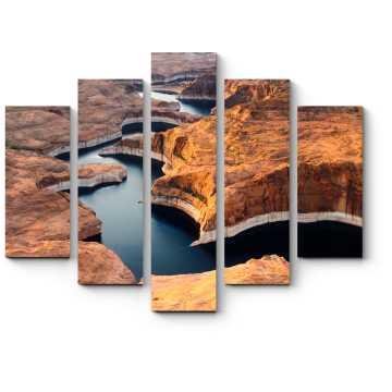 Модульная картина Удивительный вид на Гранд-Каньон