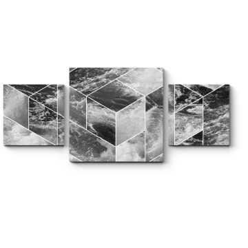 Модульная картина Узор из волн