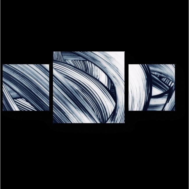 Модульная картина Изгибы и глубина