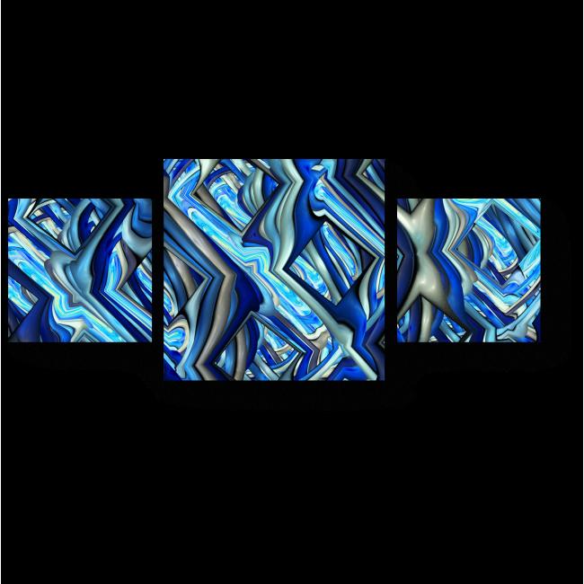 Модульная картина Идеальные ромбы