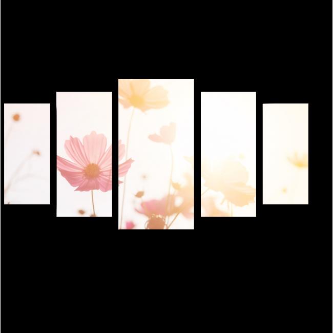 Модульная картина Пастельные оттенки