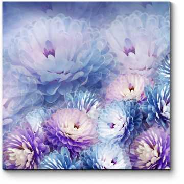 Узор из хризантем