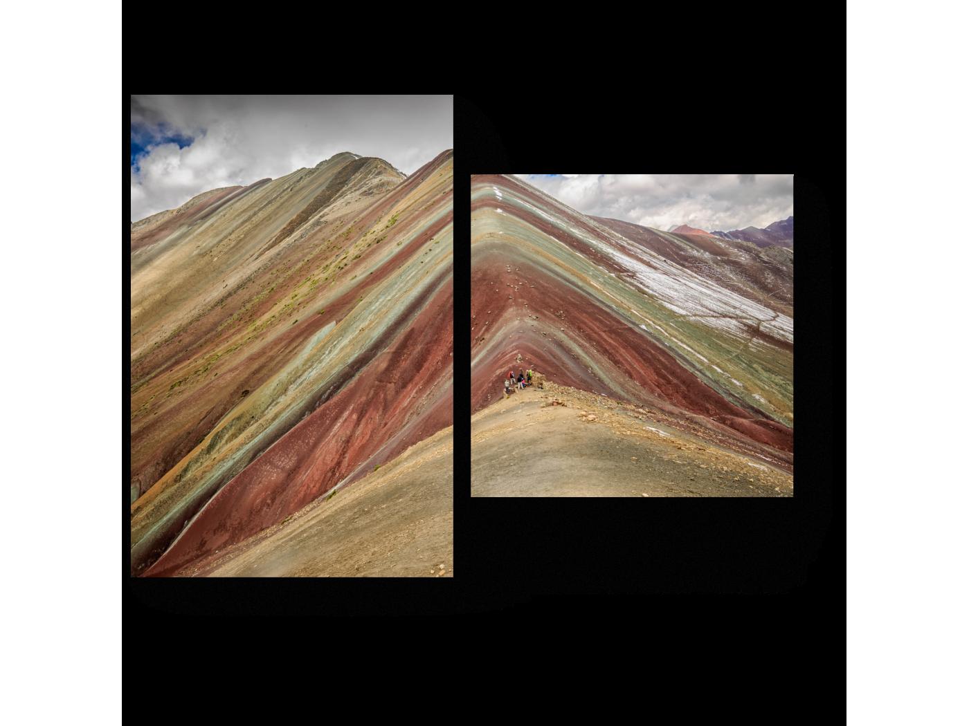 Модульная картина Спокойствие гор (40x30) фото
