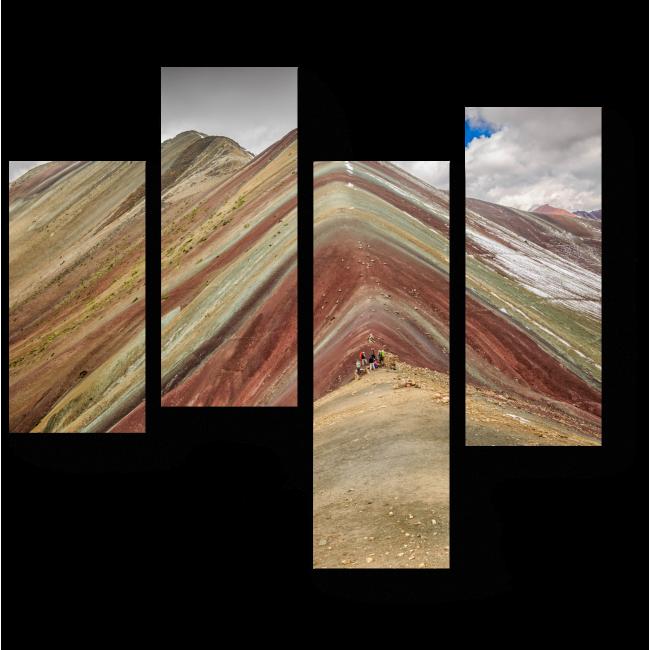 Модульная картина Спокойствие гор