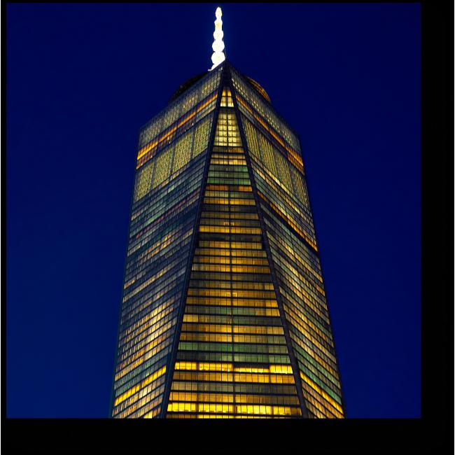 Модульная картина Стеклянный небоскреб в Нью-Йорке