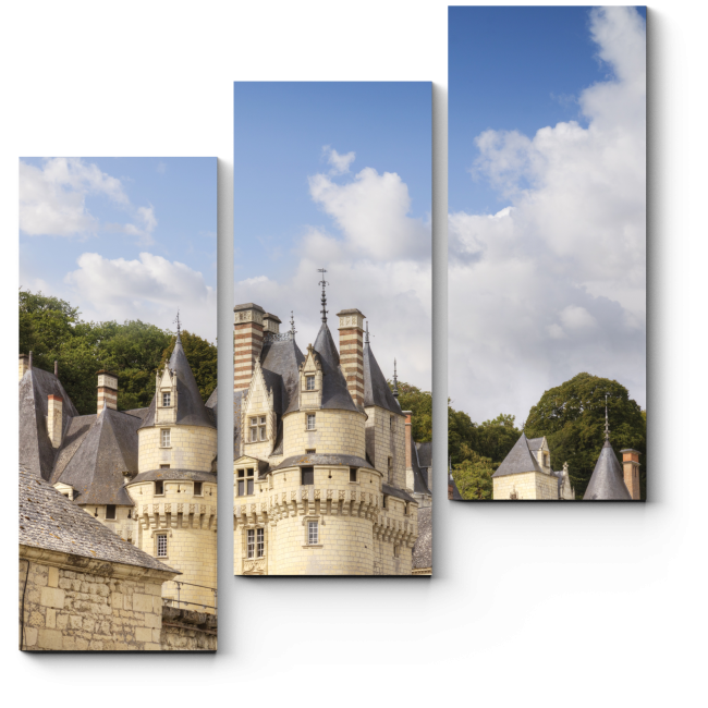 Модульная картина Замок Шато Юссе