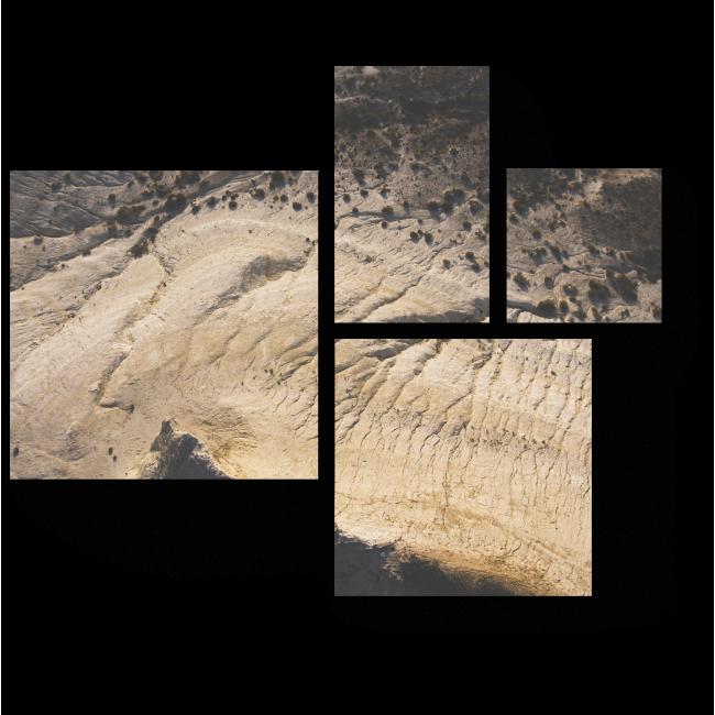 Модульная картина Песчаный пейзаж
