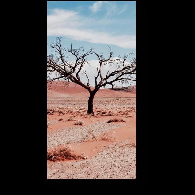 Модульная картина Одинокое дерево