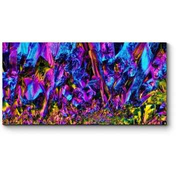 Модульная картина Уникальные цвета кристаллов
