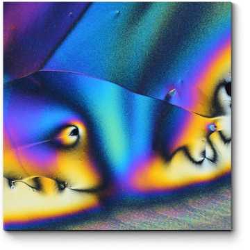 Модульная картина Металлические изгибы