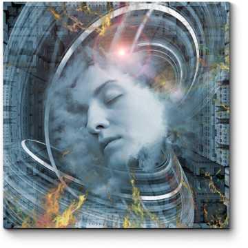 Модульная картина Сила подсознания