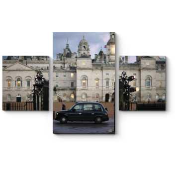 Модульная картина Классический лондонский автомобиль