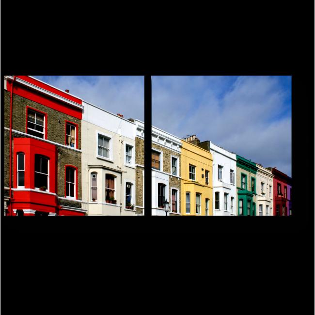 Модульная картина Краски Лондона