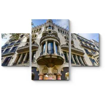 Модульная картина Неокласицизм в архитектуре Барселоны