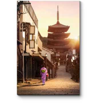 Прогулка по предрассветному Киото
