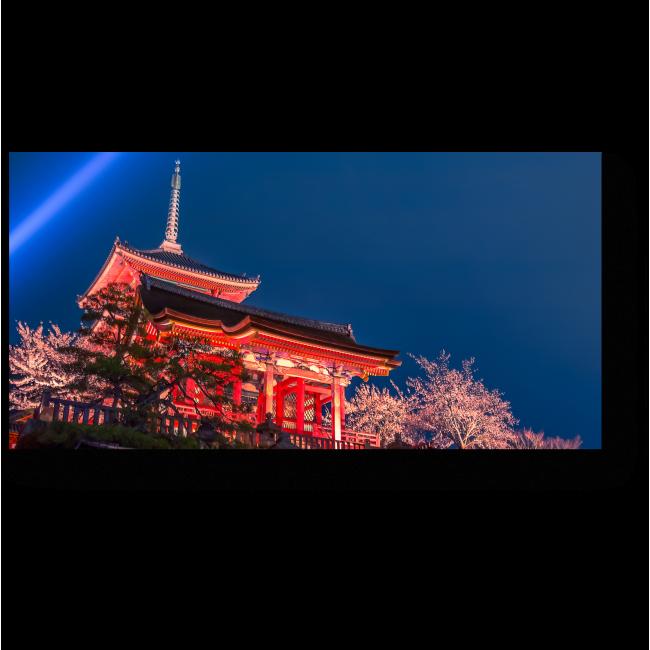 Модульная картина Праздник весны в Киото