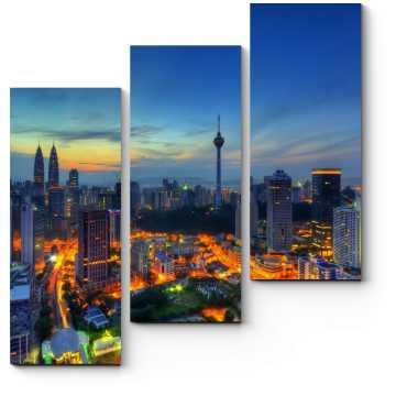Засыпающий Куала-Лумпур