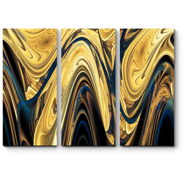 Модульная картина Раскаленный металл