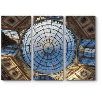 Стеклянный купол Миланского собора
