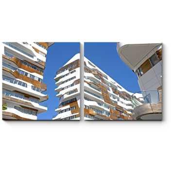 Современный жилой район Милана