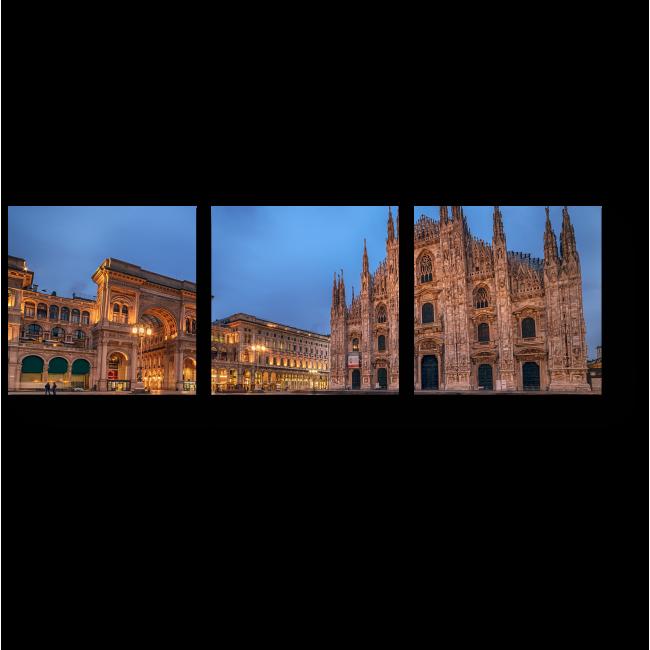 Модульная картина В самом сердце Милана