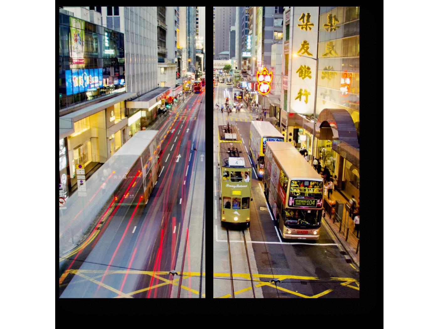 Модульная картина Летний Гонконг (40x40) фото