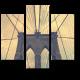 Винтажный Бруклинский мост