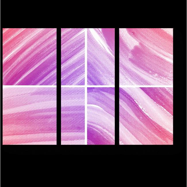 Модульная картина Глубина пурпура