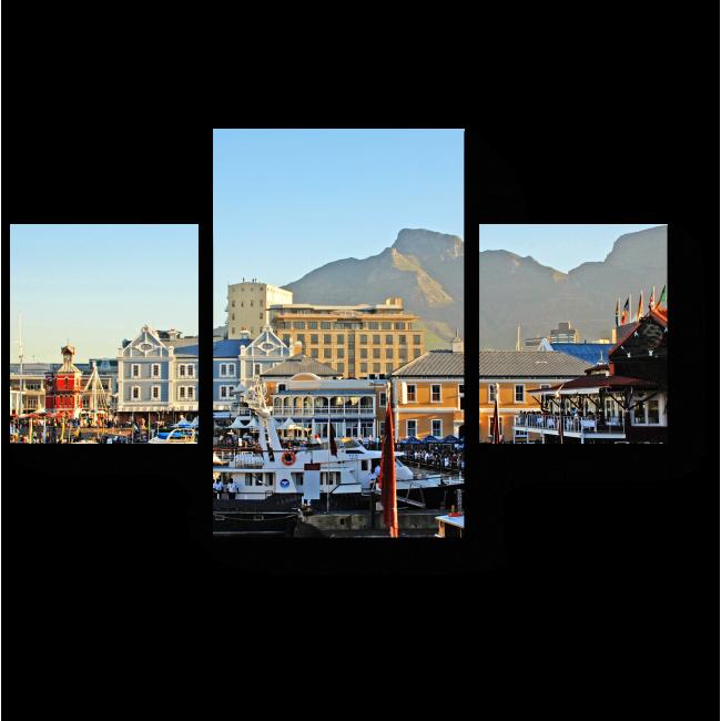 Модульная картина Чарующие виды Кейптауна