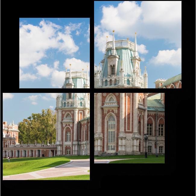 Модульная картина Царицыно