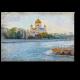 Москва глазами влюбленного художника