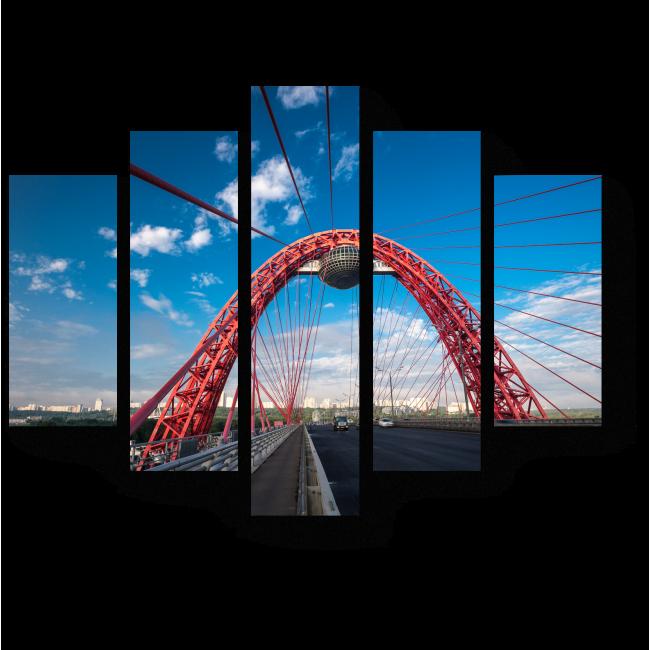 Модульная картина Московский мост