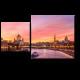 Закат над Москва рекой