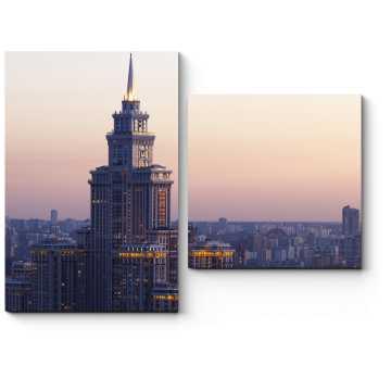 Чарующие виды Москвы
