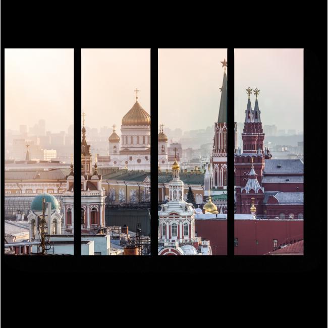 Модульная картина Великолепная Москва