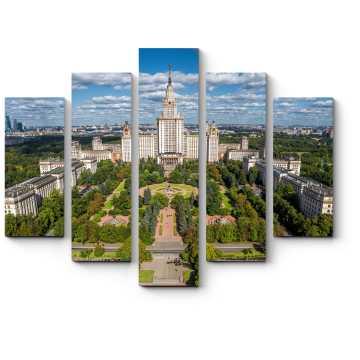 Модульная картина МГУ