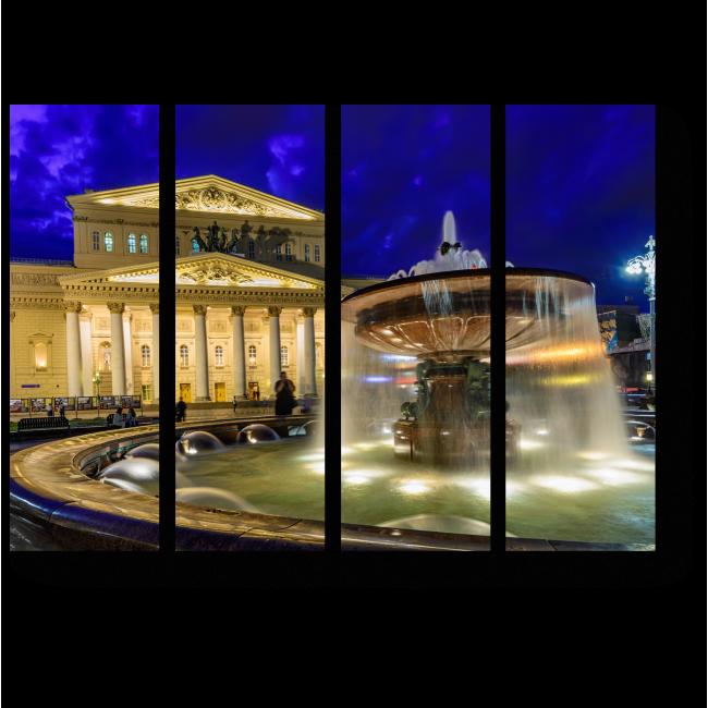 Модульная картина Большой Театр