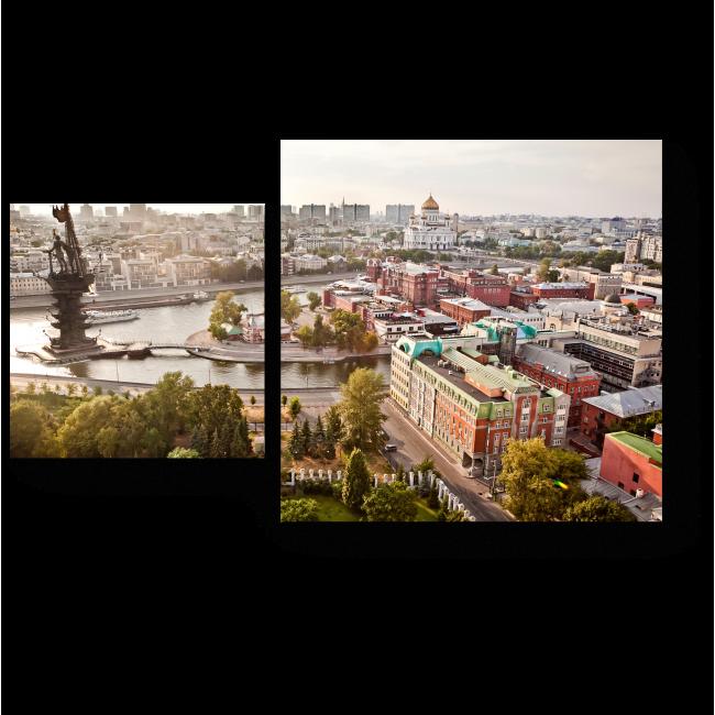 Модульная картина Панорама Москвы