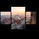 Зимний закат в Праге
