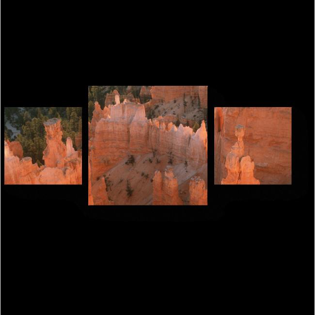 Модульная картина Крутой каньон